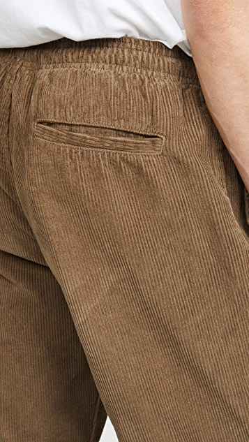 Save Khaki 8 Wale Corduroy Easy Chino Pants