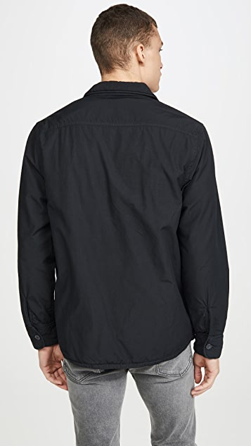 Save Khaki Fleece Lined Shirt Jacket