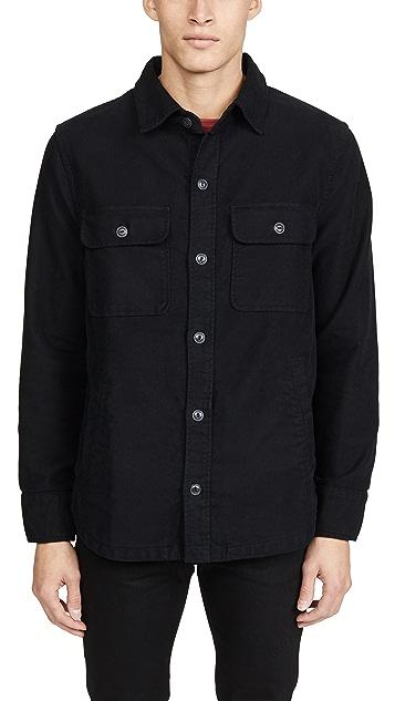 Save Khaki Moleskin CPO Shirt Jacket