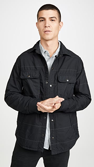 Save Khaki Quilted CPO Shirt Jacket