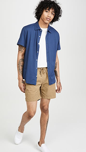 Save Khaki Supima Jersey Short Sleeve Shirt