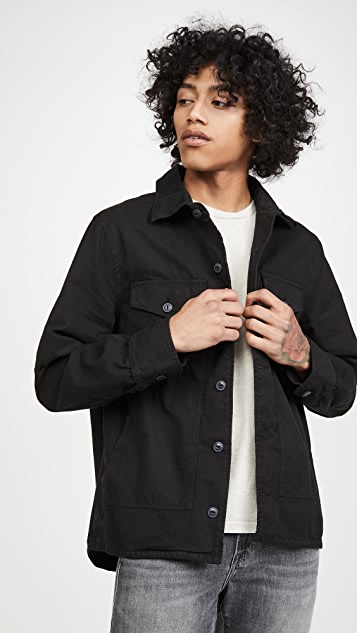 Save Khaki Field Shirt Jacket