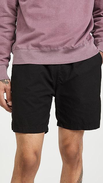 Save Khaki Twill Easy Shorts