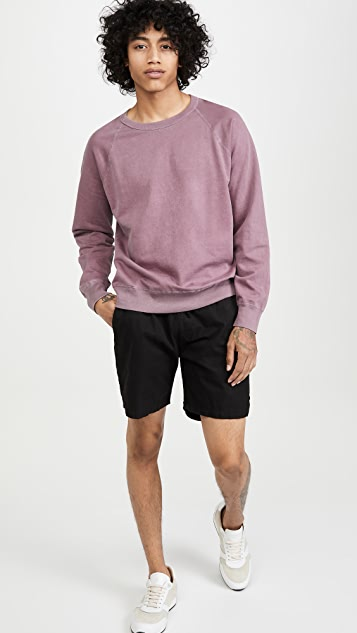 Save Khaki Supima Crew Neck Beach Sweatshirt