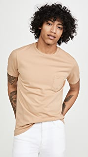 Save Khaki Supima Pocket Tee