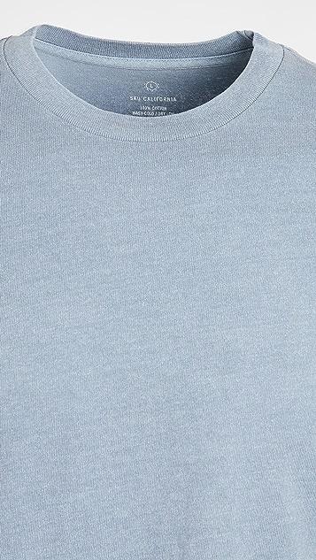 Save Khaki Pigment Dyed Tee Shirt
