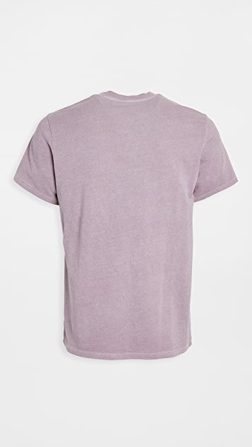Save Khaki Pigment Dyed Tee Shirt