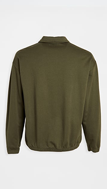 Save Khaki Supima Cotton Quarter Zip Sweatshirt