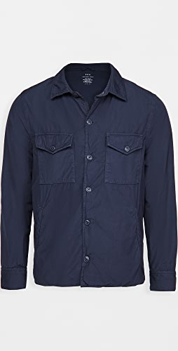 Save Khaki - Fleece Lined Shirt Jacket