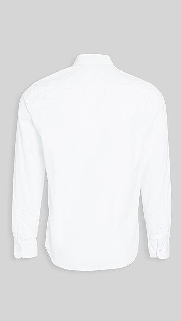 Save Khaki Poplin Standard Shirt