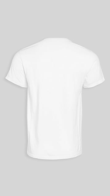 Save Khaki Short Sleeve Supima Tee