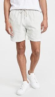 Save Khaki Corduroy Easy Shorts