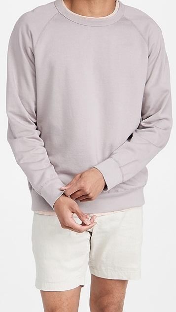 Save Khaki Supima Crew Neck Sweatshirt