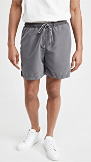 Save Khaki Twill Beach Shorts