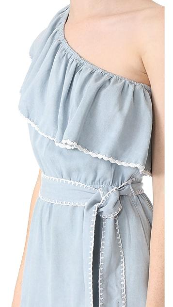 Saylor Haney One Shoulder Dress