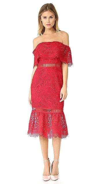 Saylor Cornelia Sistine Embroidery Dress