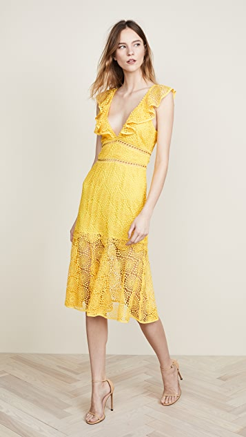 Leilani Dress in Yellow. - size M (also in L,S,XS) Saylor