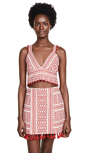 Saylor Bea Crop Top and Skirt Set