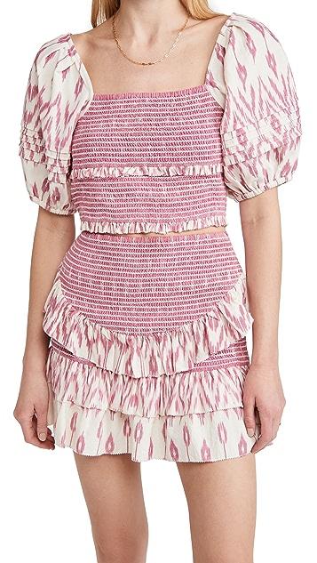 Saylor Keka Crop Top & Skirt Set