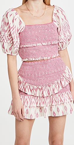 Saylor - Keka Crop Top & Skirt Set