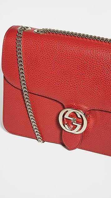 Shopbop Archive Gucci Interlocking Chain Shoulder Bag