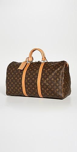 Shopbop Archive - Louis Vuitton Keepall 50 Monogram Bag