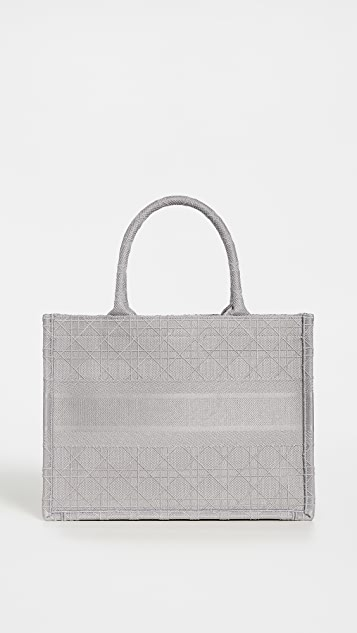 Shopbop Archive Christian Dior Book Tote in Canvas Gray