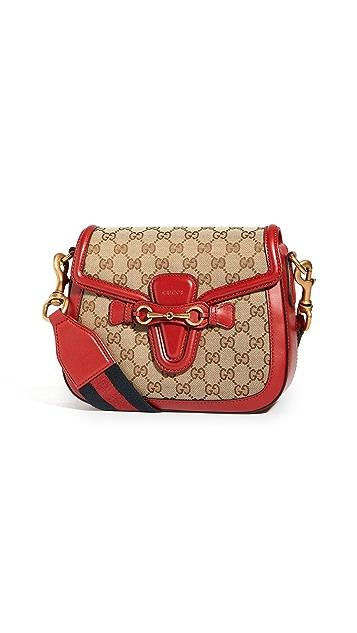 Shopbop Archive Gucci 1955 Morsetto Gg Supreme Horsebit Bag