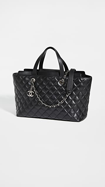 Shopbop Archive Chanel Large Tote Bag Calfskin