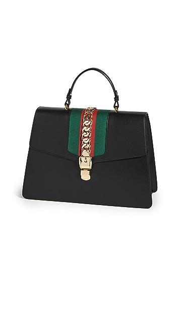 Shopbop Archive Gucci Sylvie 双向手提包