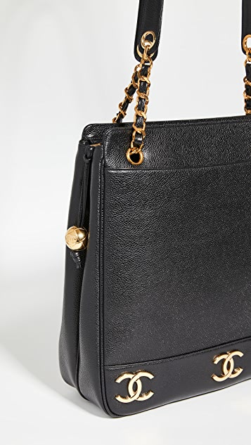 Shopbop Archive Chanel   Vintage Triple Cc Logo Bag