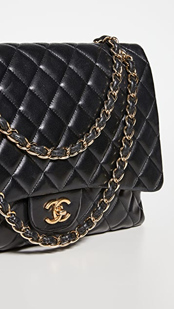 Shopbop Archive Chanel Maxi Jumbo Quilted Leather Bag