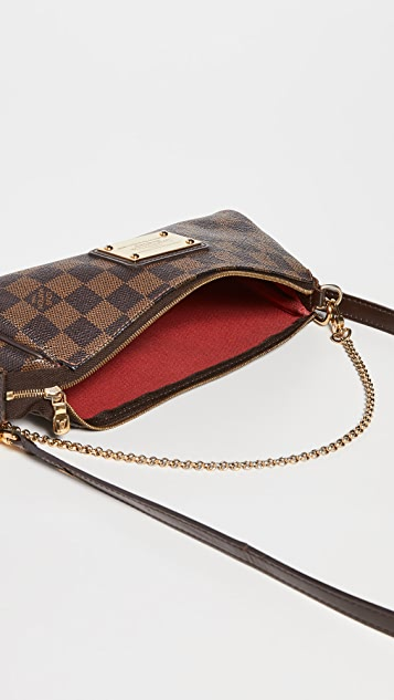 Shopbop Archive Louis Vuitton Eva Damier Ebene Bag