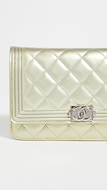 Shopbop Archive Chanel Le Boy 链条钱包
