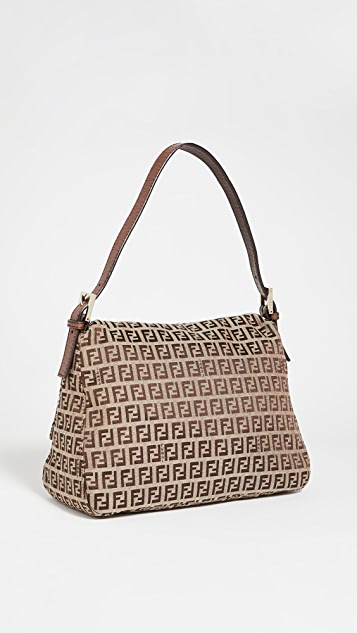 Shopbop Archive Fendi Mama Baguette Zucca Canvas Bag