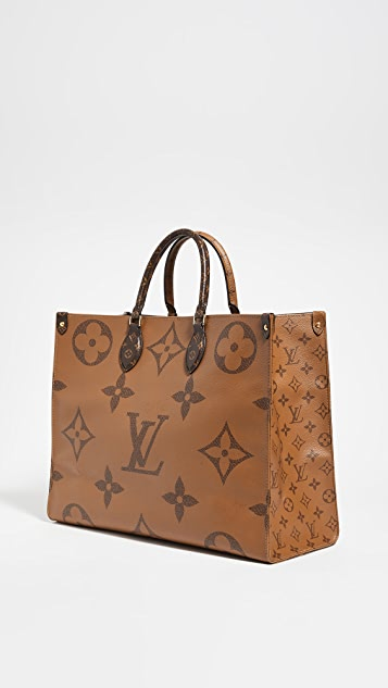Shopbop Archive Louis Vuitton Giant On The Go 交织字母包