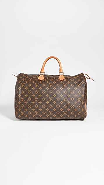 Shopbop Archive Louis Vuitton Speedy 40 交织字母帆布包