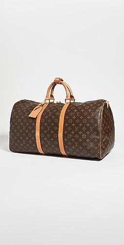 Shopbop Archive - Louis Vuitton Keepall 55 Monogram 圆筒包