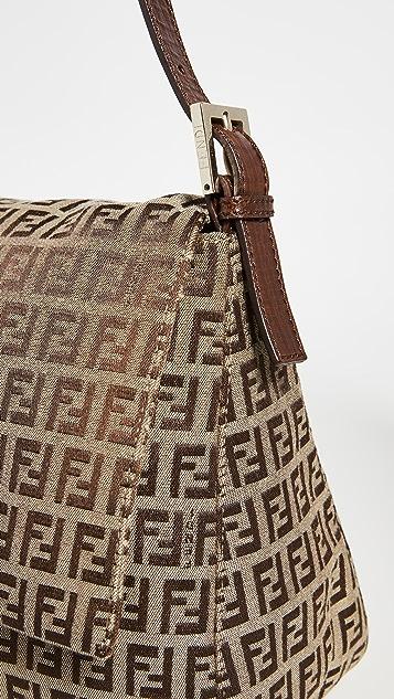 Shopbop Archive Fendi Mama Zucca 帆布长方形包