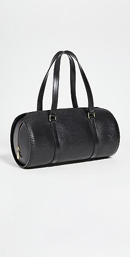 Shopbop Archive - Louis Vuitton Epi Soufflot Black