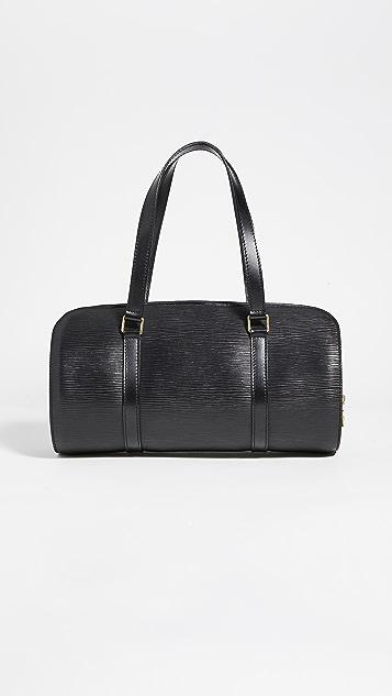 Shopbop Archive Louis Vuitton Epi Soufflot Black