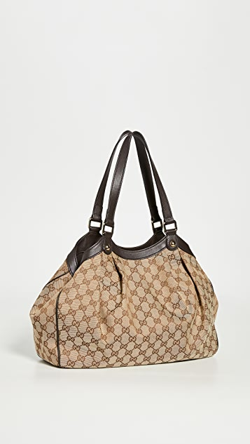 Shopbop Archive Gucci GG Canvas Tote Monogrammed Canvas