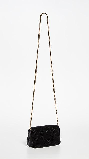 Shopbop Archive Gucci Marmont Chain Shoulder Bag
