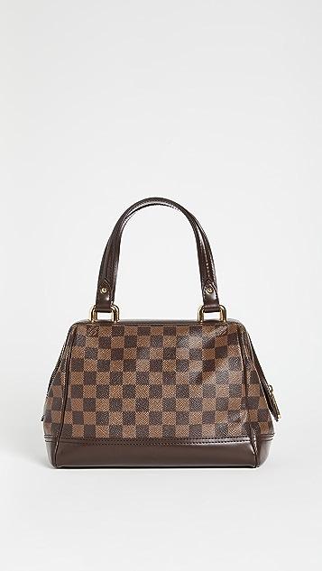 Shopbop Archive Louis Vuitton Knightsbridge Damier Eben Bag