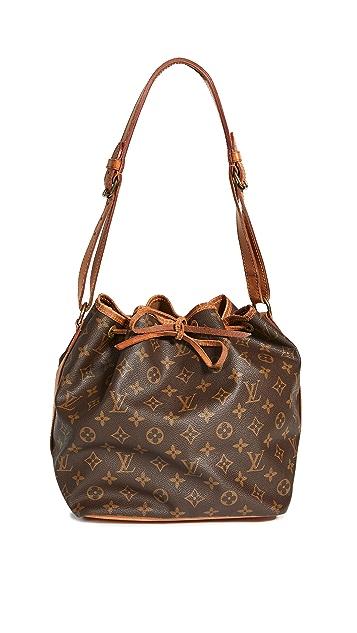 Shopbop Archive Louis Vuitton 小巧 Noe 交织字母包