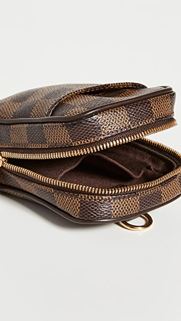 Shopbop Archive Louis Vuitton Etui Okapi Pm Damier Eben Bag