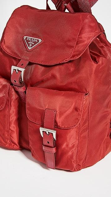 Shopbop Archive Prada 尼龙皮双肩包