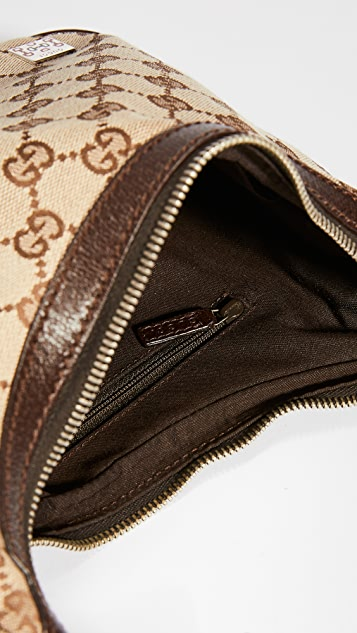 Shopbop Archive Gucci GG 帆布肩背包
