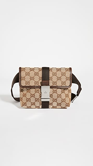 Shopbop Archive Gucci Gg Canvas Waist Bag