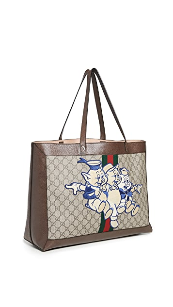Shopbop Archive Gucci 2019 Ophidia Three Little Pig Tote